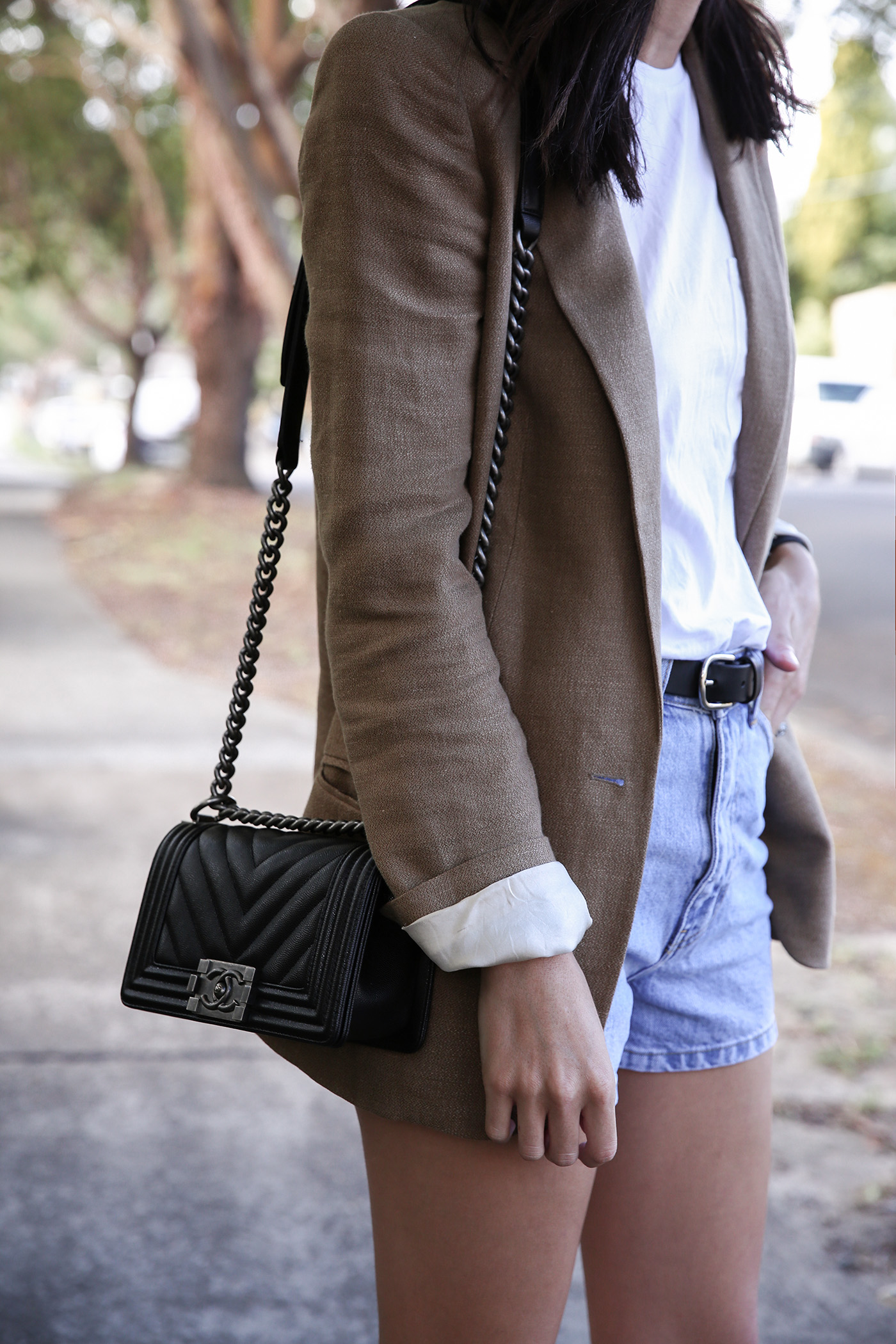 8cc2a846cde4 Chanel Boy Bag Review | Mademoiselle | A Minimalist Fashion Blog